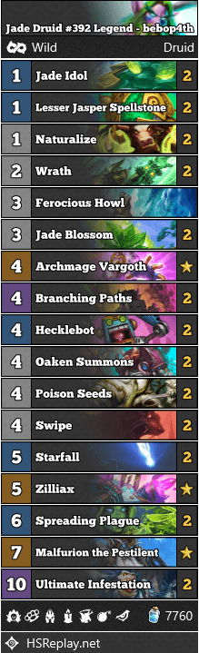 Jade Druid #392 Legend - bebop4th