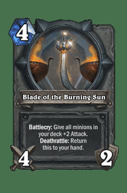Blade of the Burning Sun