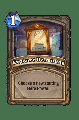 Explorer Retraining