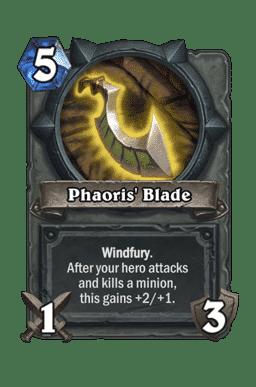 Phaoris' Blade