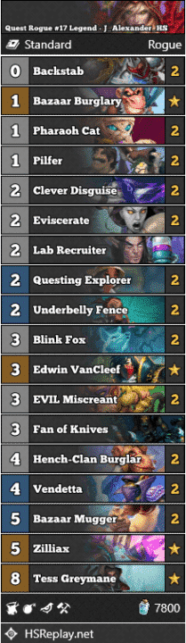 Quest Rogue #17 Legend - J_Alexander_HS
