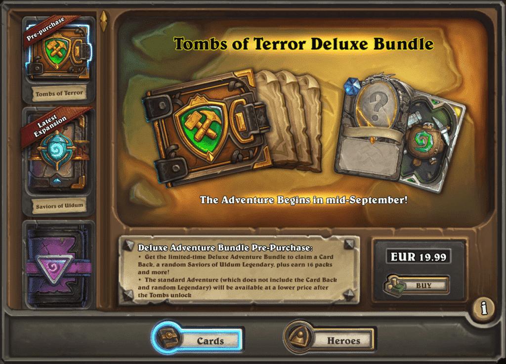 Tombs of Terror Deluxe Bundle