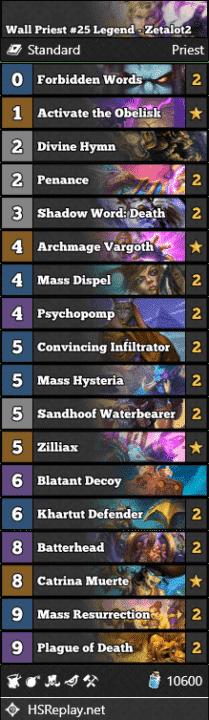 Wall Priest #25 Legend - Zetalot2