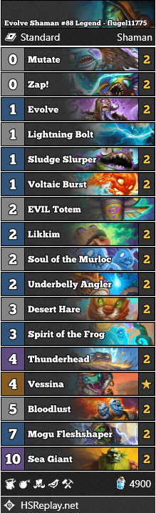 Evolve Shaman #88 Legend - flugel11775