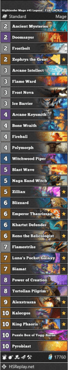Highlander Mage #45 Legend - F2K_J4CKIE