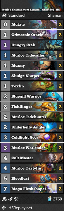 Murloc Shaman #496 Legend - Ghostdog_HS