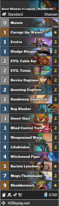 Quest Shaman #1 Legend - BLGMelody