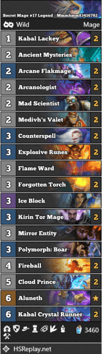 Secret Mage #17 Legend - Mmmhmm83416782
