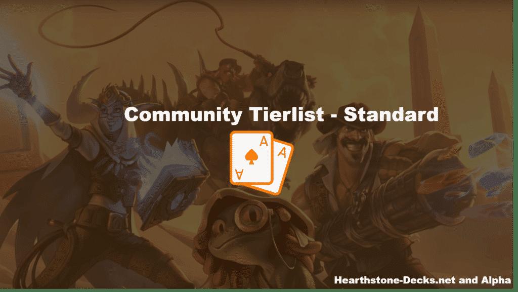 Standard Tier list