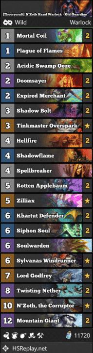 [Theorycraft] N'Zoth Hand Warlock - Old Guardian