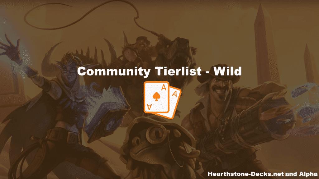 Wild Tier list