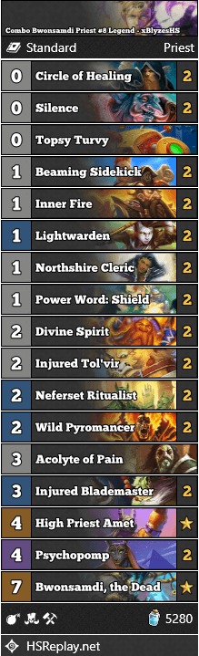 Combo Bwonsamdi Priest #8 Legend - xBlyzesHS