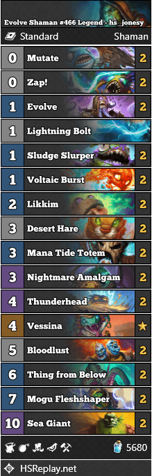 Evolve Shaman #466 Legend - hs_jonesy