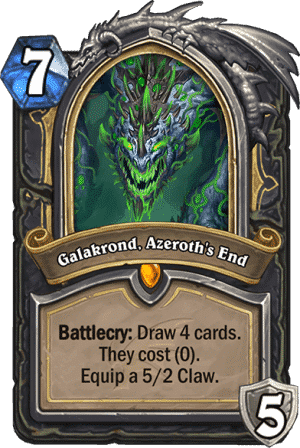 Galakrond Azeroths End - Rogue