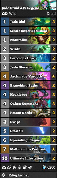 Jade Druid #49 Legend - lex_kzn