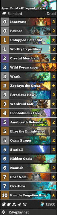 Quest Druid #12 Legend - Kalas_HS