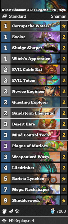 Quest Shaman #324 Legend - PG_rayC