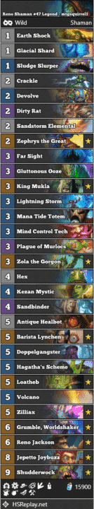 Reno Shaman #47 Legend - mtgsquirrel1