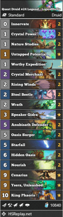 Quest Druid #24 Legend - LiquidOxHs