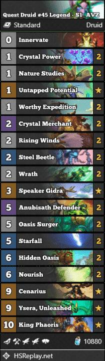 Quest Druid #45 Legend - S1_AVZ