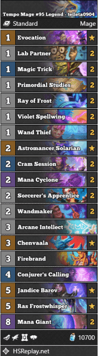 Tempo Mage #95 Legend - telleta0904