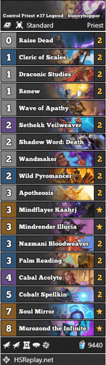 Control Priest #37 Legend - bunnyhoppor