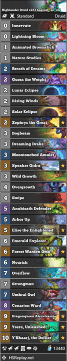 Highlander Druid #253 Legend - zo_chi